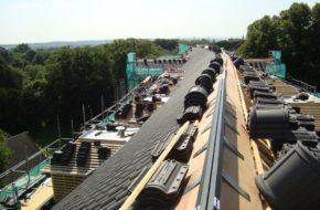 Restauratie dak Flesst Verkoelen Universiteit Maastricht