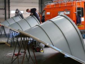 Prefabricage dakkapelen